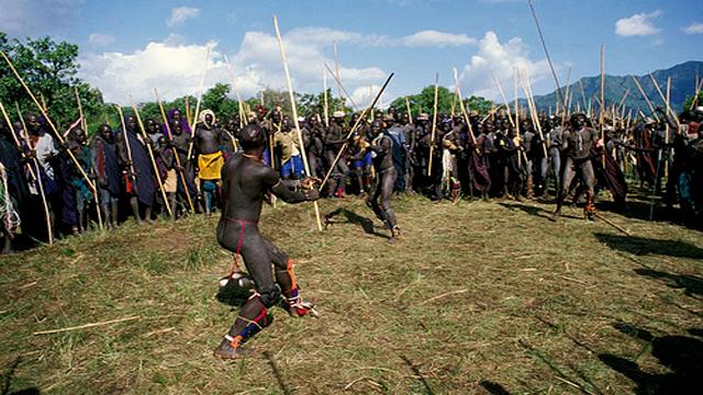 Nguni Stick Fighting